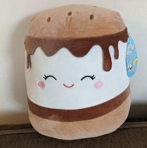 Carmelita S'mores Squishmallow NWT